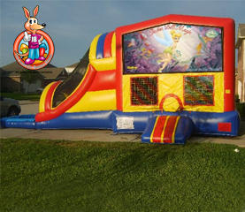 Tinkerbell Module 5 in 1 Waterslide Bouncehouse Combo